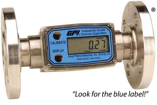 Đồng hồ lưu lượng G2 kết nối mặt bích