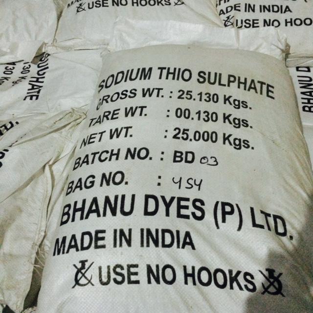 Bán Sodium thiosulphate - Thio lớn, thio nhỏ(Ấn Độ)