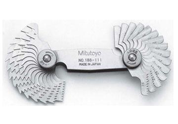 Bộ dưỡng đo ren, 188-111 (30 lá), Mitutoyo