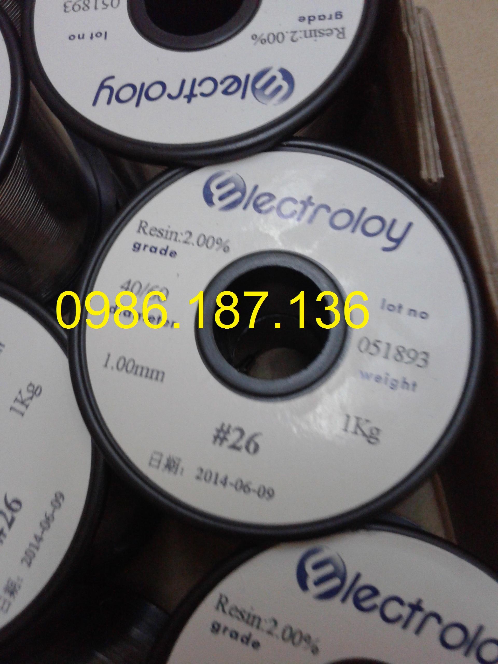 Chuyên cung cấp thiếc hàn, phụ kiện smt chính hãng cho sản xuất điện tử