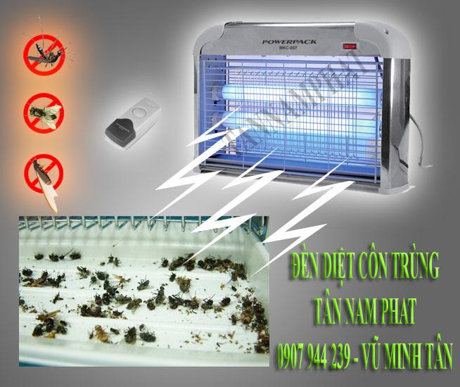 Cung cấp đèn diệt côn trùng, đèn diệt muỗi cho nhà máy sản xuất