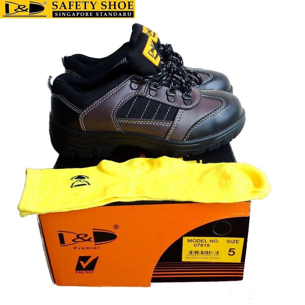D&D Singapore Safety shoes - 07818