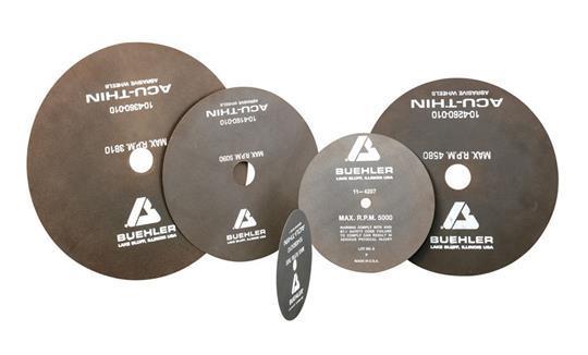 Đĩa cắt abrasive Buehler, abrasive cut-off wheels Buehler, Cutting disc Buehler, Blades Buehler