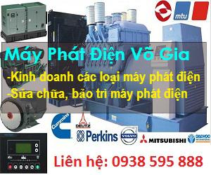 Dịch vụ cho thuê máy phát điện Võ Gia