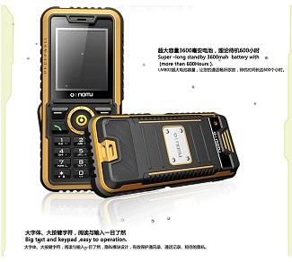 Điện thoại Suntek Nomu S3 chống nước vô đối, pin dùng 30 ngày