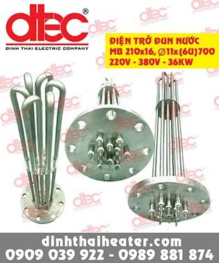 Điện trở đun nước DT010