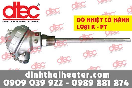 Dò nhiệt củ hành PT100 - K DT038