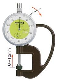 Đồng hồ đo độ dày, G-0.4N, Peacock
