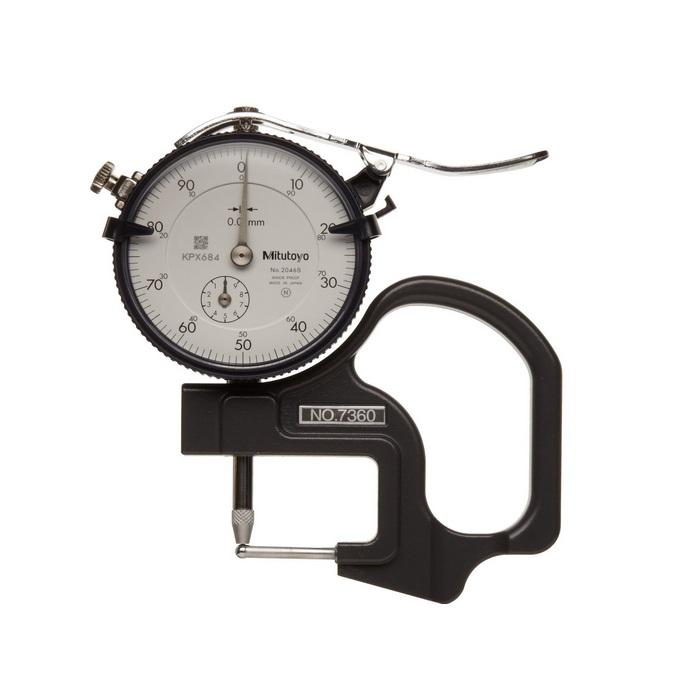 Đồng hồ đo độ dày ống, 7360, MITUTOYO
