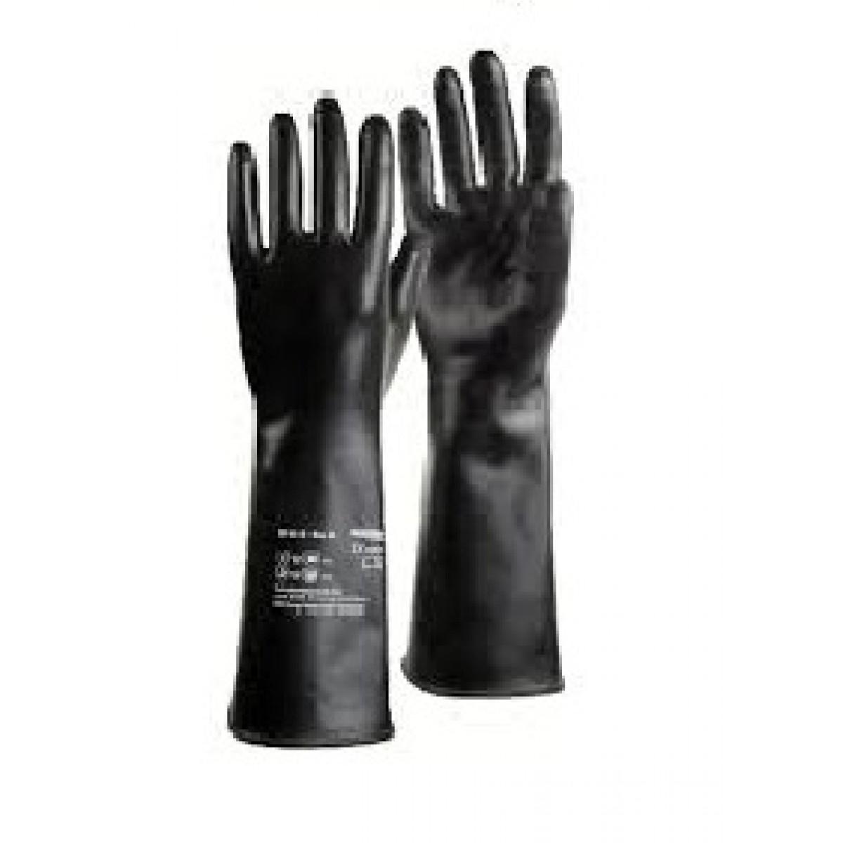 Găng tay cao su chống acid Trung Quốc - NEO400+Marigold