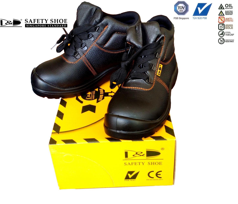 giày bảo hộ D&D Singapore Safety shoes - 03818