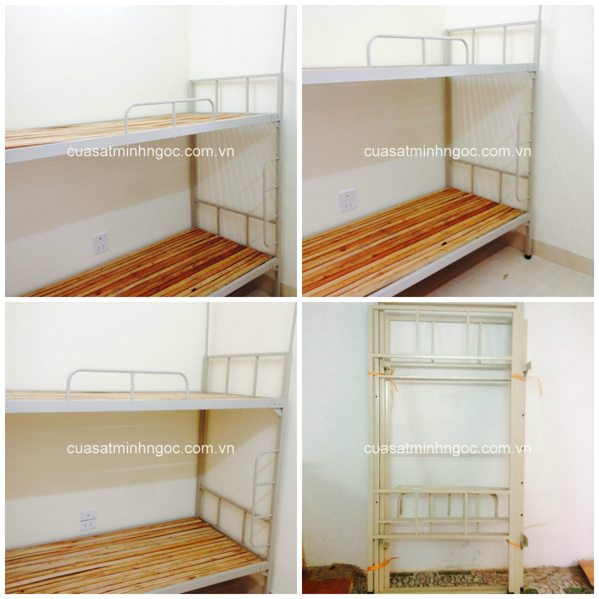 Giường tầng sắt Minh Ngọc - GTS01