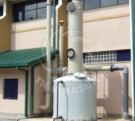 Hệ thống hút khí công nghiệp