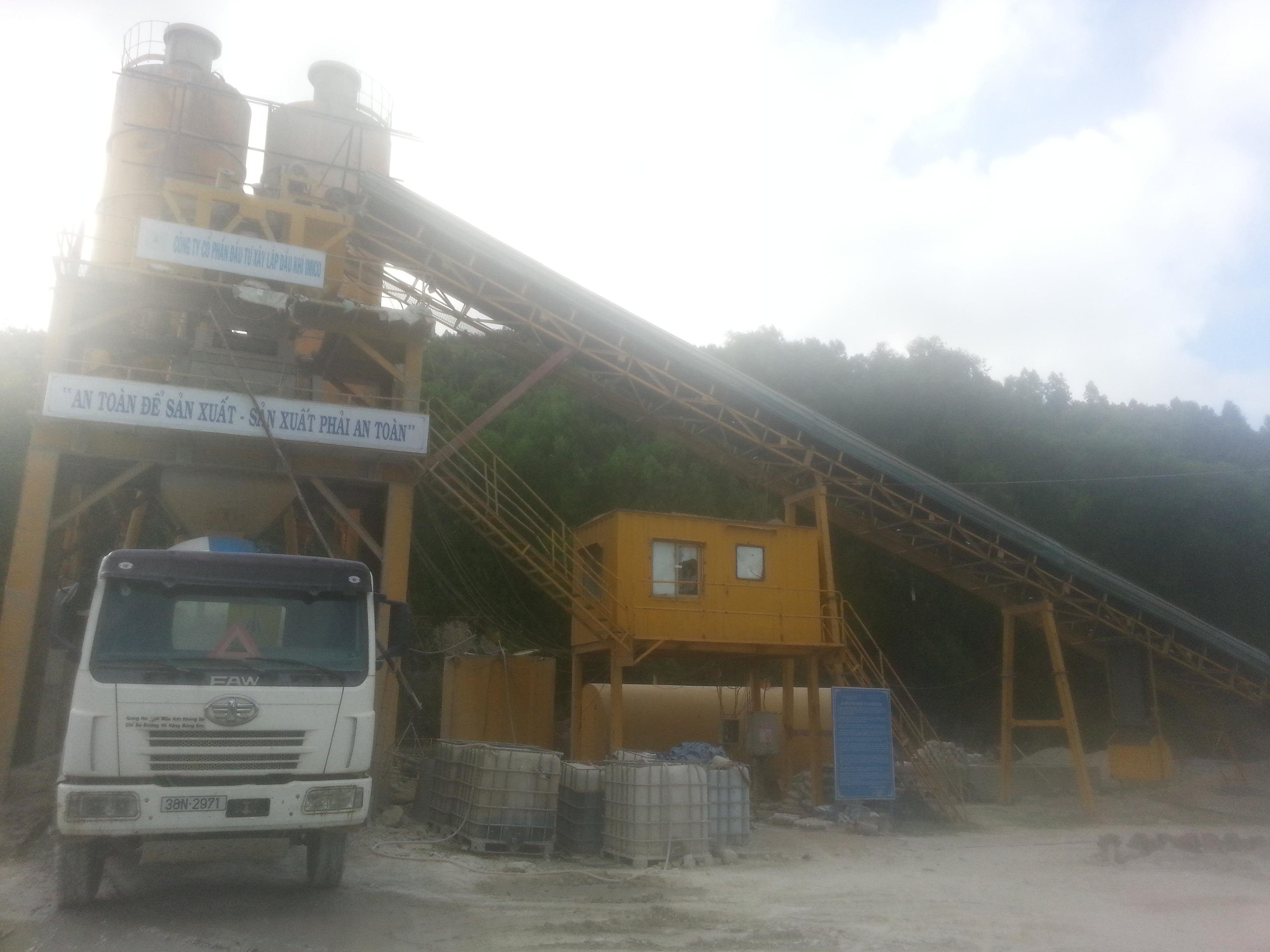 Hệ thống trạm trộn bê tông 80m3/h