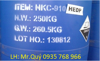 HEDP (1-Hydroxyethylidene-1,1-Diphosphonic acid)