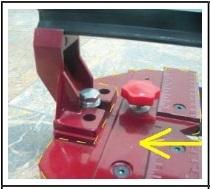 Linh kiện bàn cắt gạch Đầu Thước (màu đỏ)