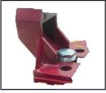 Linh kiện bàn cắt gạch  Giá Đỡ Thanh Trượt (màu đỏ)