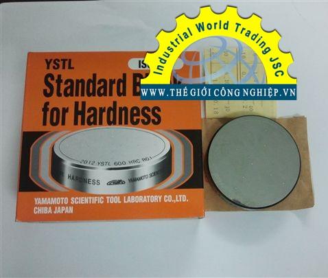 Mẫu chuẩn cho máy đo độ cứng Brinell, HBW series, Yamamoto, Hardness block for Brinell Hardness Tester