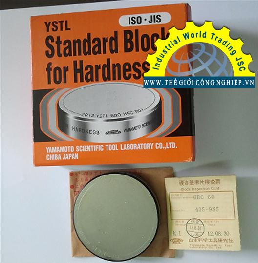 Mẫu chuẩn đo độ cứng, HRC60, Yamamoto, Standard block for hardness