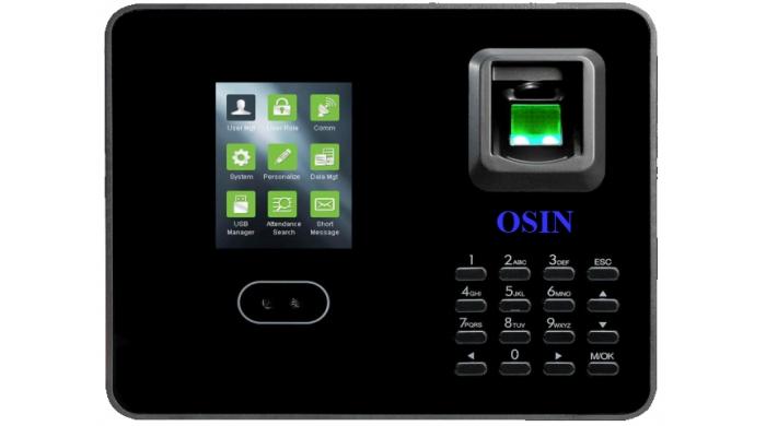 Máy chấm công nhận diện khuôn mặt và vân tay OSIN O-215