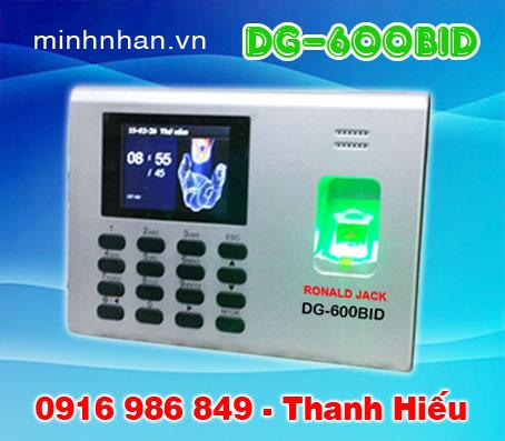máy chấm công Ronald jack DG-600 giá rẻ nhất cho văn phòng 50 nhân viên