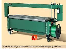 Máy đóng đai nhựa bán tự động HBX-4300 Large Frame Plastic strapping machines