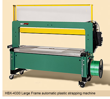 Máy đóng đai nhựa bán tự động HBX-4330 Plastic strapping machines