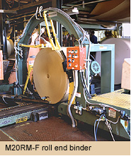 Máy đóng đai thép tự động M20RM-F Strapping machines