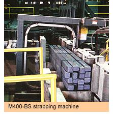 Máy đóng đai thép tự động M400-BS Signode Strapping machines