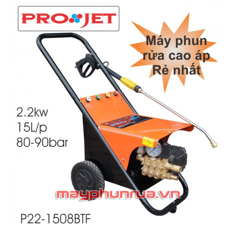 Máy rửa xe cao áp Projet P22-1508BTF