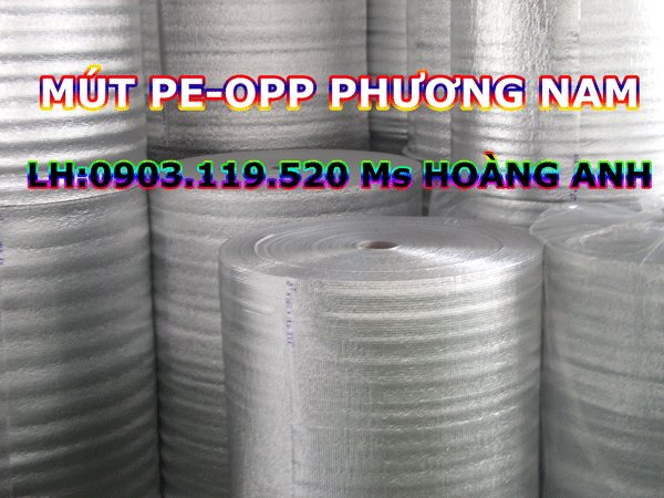 Mút cách nhiệt PE-OPP Phương Nam
