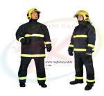 Quần áo chống cháy 300 độ C 2 lớp vải Nomex