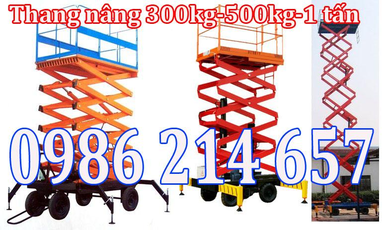 Thang nâng ziczac 7500mm