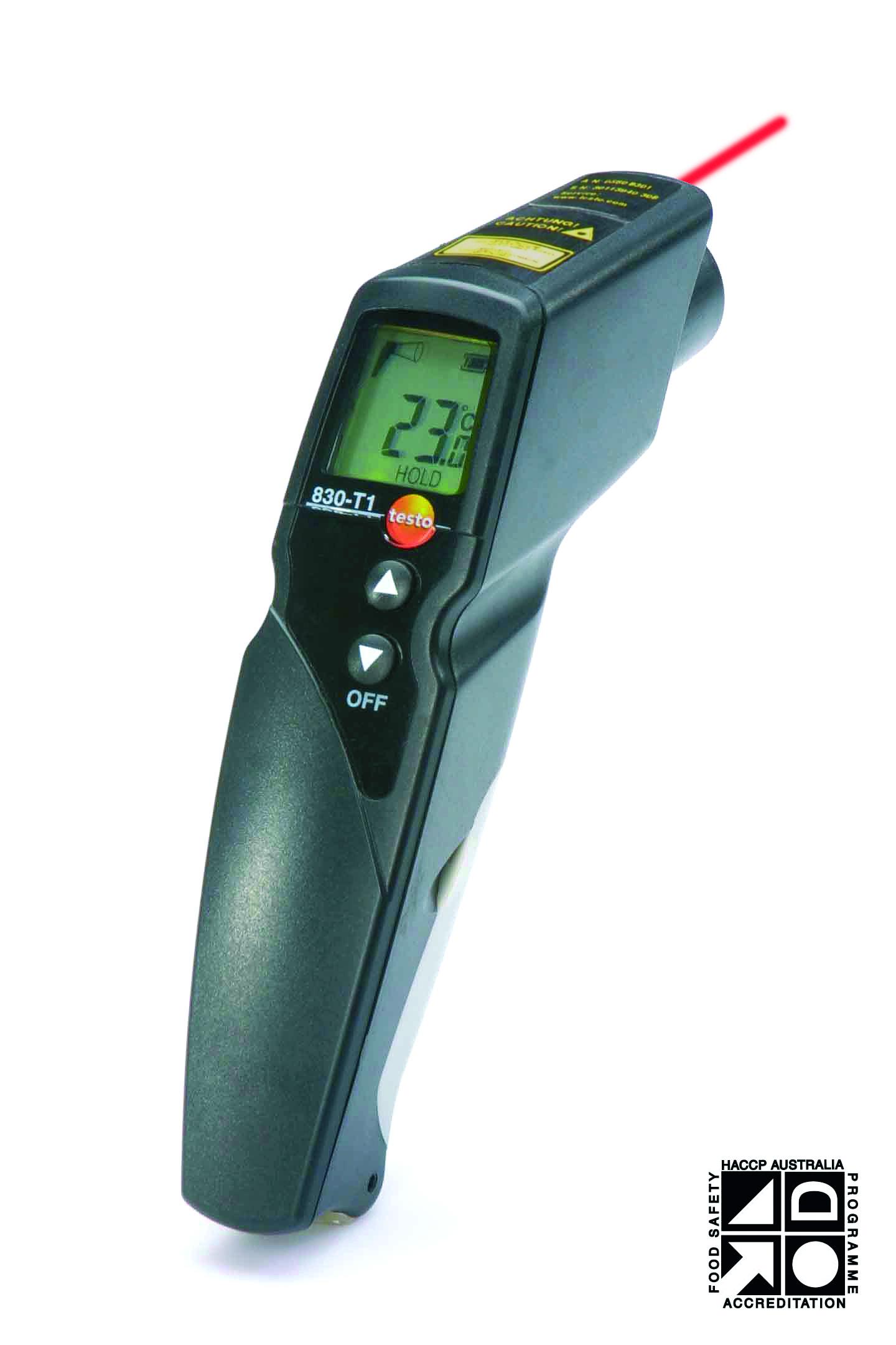 Thiết bị đo nhiệt bằng hồng ngoại T830-T1