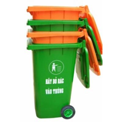 Thùng rác 120l - Thùng rác công cộng - Thùng rác môi trường giá rẻ