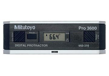 Thước đo góc nghiêng hiển thị số, 950-318, Mitutoyo