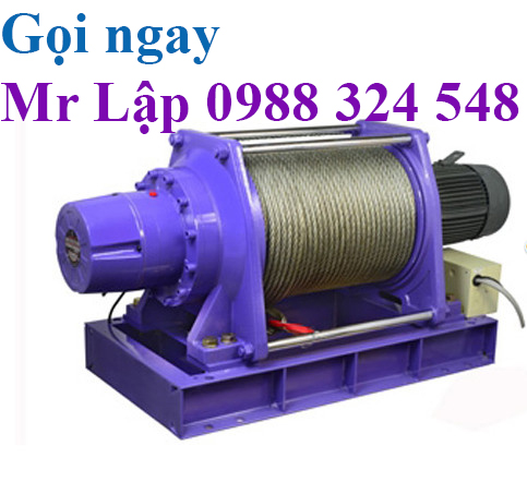 Tời cáp điện comeup Đài Loan, Comeup electric wire rope winch