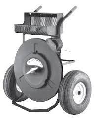 Xe đẩy cuộn dây đai thép DT-1-10RW Strap dispenser