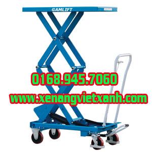 xe nâng bàn tiêu chuẩn 350/350/500/750/1000kg nâng cao 1m, 1m3, 1m450