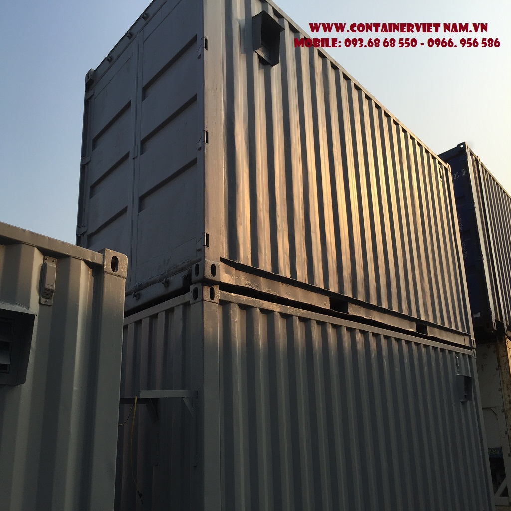Container văn phòng, container kho, container lạnh các loại
