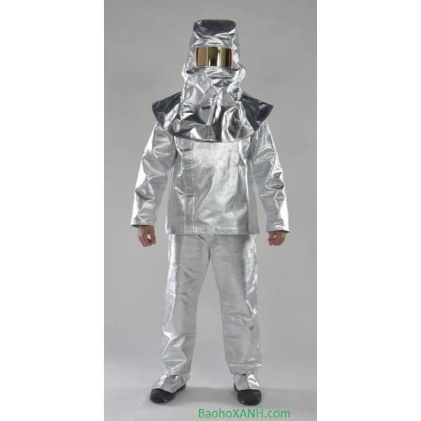 Cung cấp Quần áo bảo hộ chống nóng chịu nhiệt tráng bạc tại TP.HCM