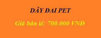Dây đai PET giá rẻ