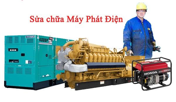 Bảo trì sửa chữa máy phát điện tại tphcm