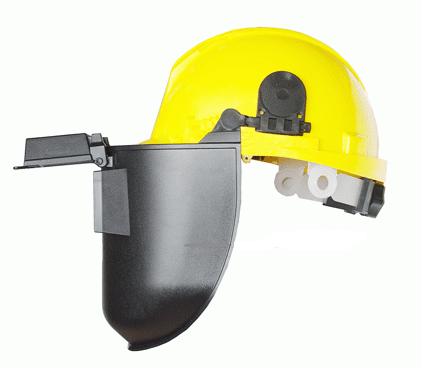 Cung cấp nón bảo hộ lao động bảo vệ đầu kết hợp kính tại Quảng Nam
