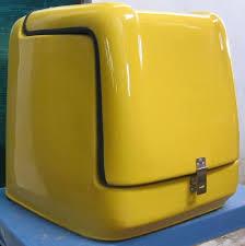 Thùng chở hàng, thùng giao hàng gắn sau xe máy