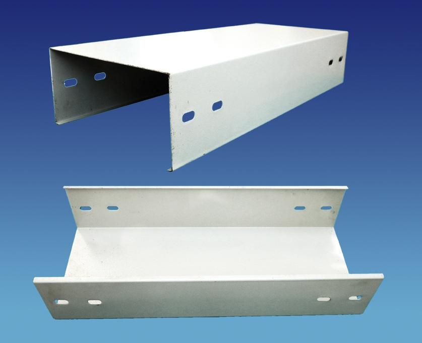 Sản xuất máng điện 400x100, máng cáp sơn tĩnh điện