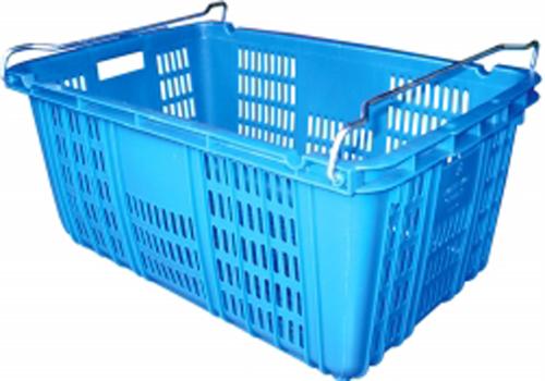 Thùng nhựa đặc, thùng nhựa đan, rổ nhựa công nghiệp có bánh xe
