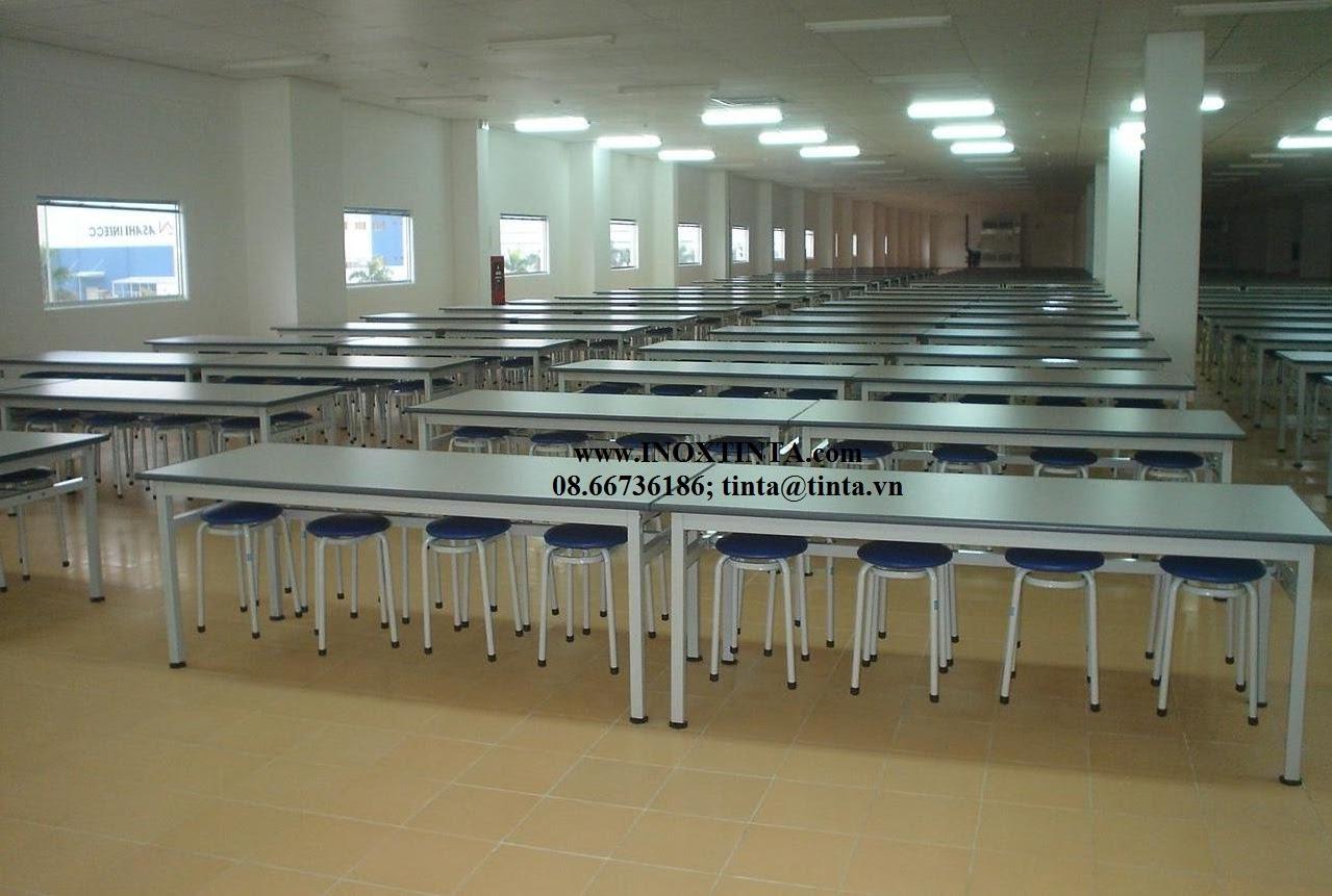Bàn ghế ăn công nghiệp INOX TINTA Tel: 08.66736186, bàn ghế ăn công nghiệp inox, bàn ghế ăn công nghiệp bằng inox.