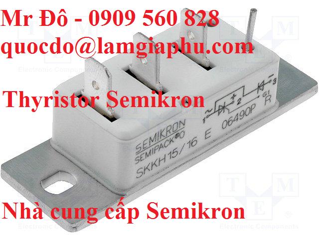 Chỉnh lưu Semikron-Thyristor Semikron-Công suất điện Semikron