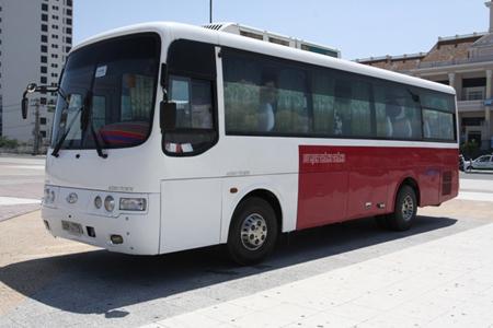 Công ty Đức Vinh cho thuê xe du lịch 45 chỗ Huyndai Hi-Lass